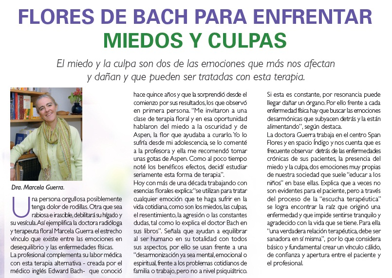Flores Bach Medicina Alternativa Natural Chile