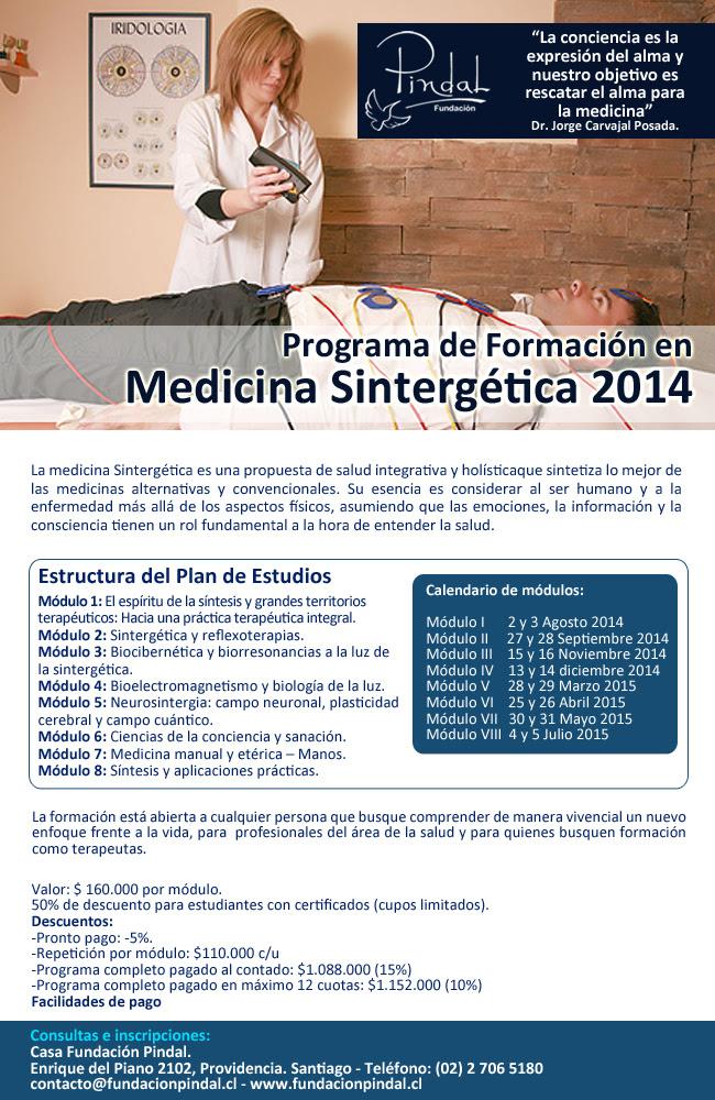 Formación Medicina Sintergética 2014