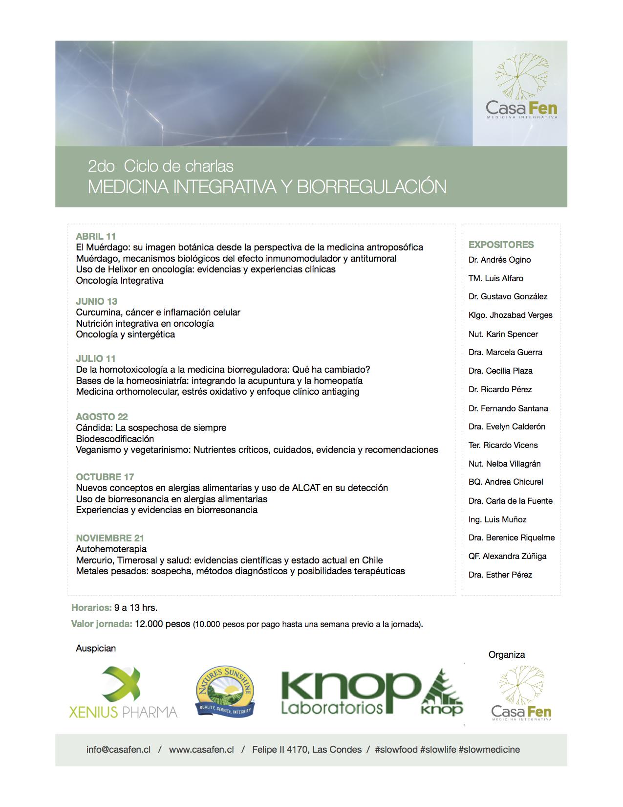 medicina natural alternativa oncologia sintergetica charla