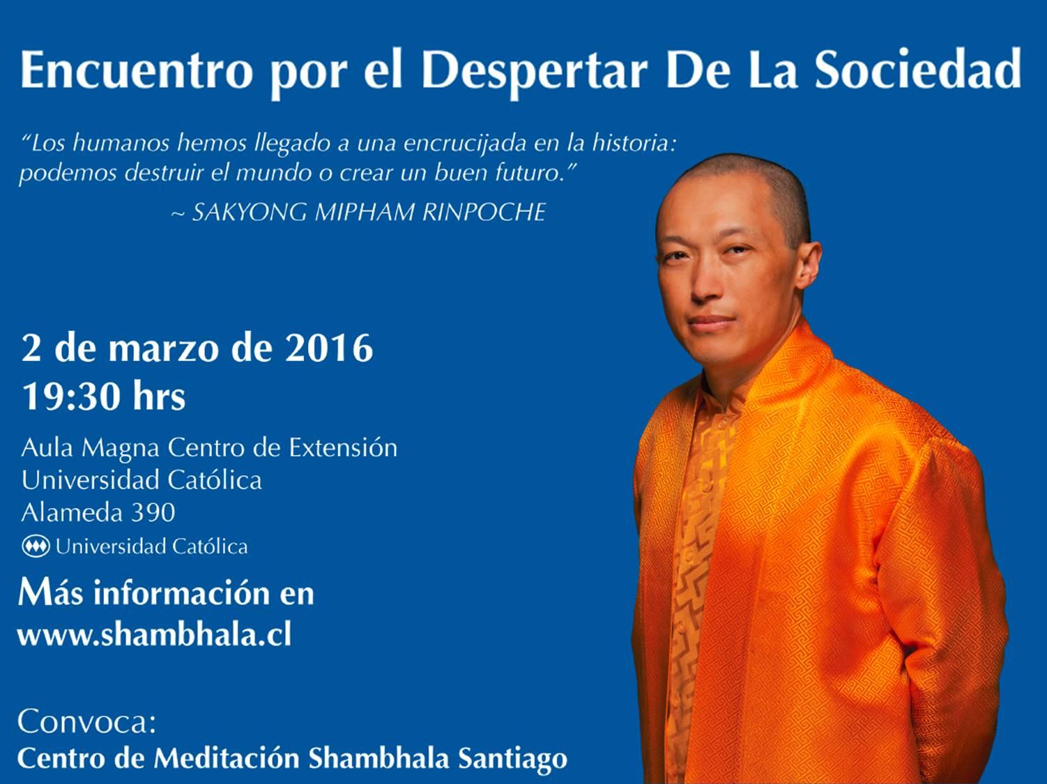 charla budista santiago